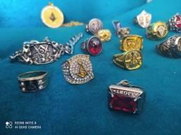 Maçonaria anéis, colares, pulseiras originais de 50 a 200 reais promoção limitada.