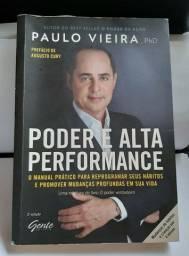 Livro Poder e Alta Performance - Paulo Vieira