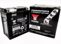 Bateria Yuasa YTX7L-BS, 12V, 6Ah, Twister, Tornado, Falcon, Hornet, Lead, CB300 Fazer 250