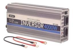 Título do anúncio: Inversor Tensao Automotivo Veicular 4000w 24v 110v Conversor - Loja Natan Abreu