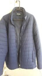 Casaco de frio de nylon