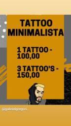 Uma Tattoo 100,00 / Duas 150,00