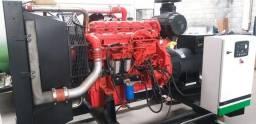 GRUPO GERADOR DE ENERGIA 320/300 MOTOR SCANIA ANO 2008