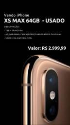 iPhone XS Max 64gb usado