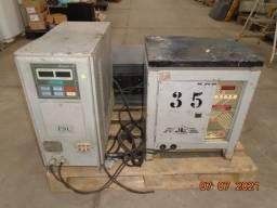 Carregadores Bateria Empilhadeira 04 peças