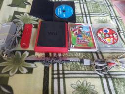 Nintendo wii mini red.mais 3jogos troco.Xbox 360