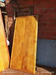 Jogo de mesa feitos de peroba rosa madeira de demolição a pronta entrega