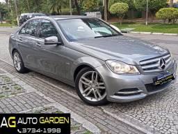 Título do anúncio: Mercedes Benz c180 2012 cgi(turbo)Blindada n3a+aut/tip+toplinha+couro+absurdamente nova!!!