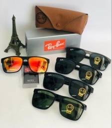 Óculos de sol / linha rayban completa ( proteção uv 400 )