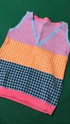 Colete tricot tam único