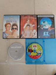 DVDs de filmes para crianças