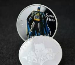 Moeda Comemorativa Batman Super Heróis