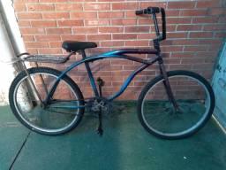 bicicleta caiçara com freio à contra-pedal