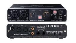 Placa de áudio Interface Roland Quad Capture