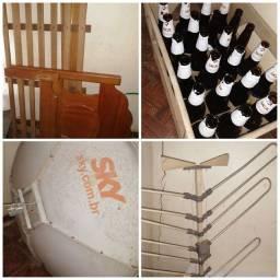 Grade de cerveja e antenas