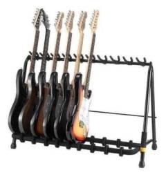 Rack Suporte Guitarra Violao Baixo Para 5 Instrumentos Hercules