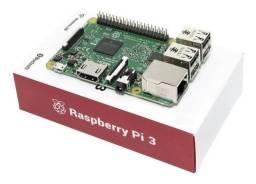 Raspberry Pi3 Pi 3 Model B Quadcore 1.2ghz Com Caixa E Manual