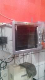 Forno Elétrico Layr, 2400W, 46L - Luxo Inox Advanced 220V usado