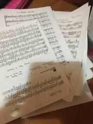 Mais de 100 partituras musicais