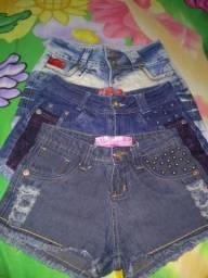 Shorts jeans por um preço