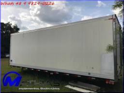 Baú frigorífico caminhão truck Mathias Implementos
