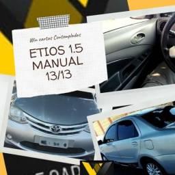 Etios 1.5 Manual 13/13 Não Consultamos Score - 2013