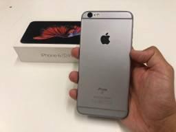 Apple iPhone 6s Plus 64gb Preto \ Completo \ Na Savassi