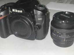 Nikon D90 com lente 50mm Nikkor