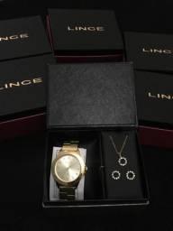 Kit relógio Lince Original na Caixa