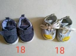 Sandálias e Sapatinhos 17 e 18