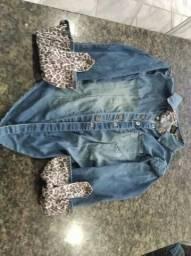 Jaqueta Jeans c Lycral e