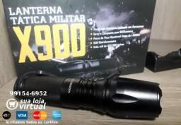 Lanterna X900 Tática X900, caça e atividade policial, consulte entrega