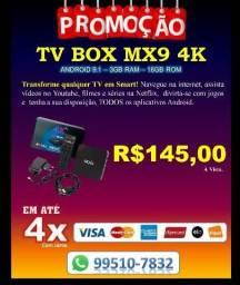 TV BOX mx9 Android 9.1