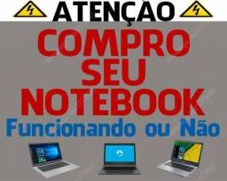 Negociamos Notebook Samsung, Cce, Positivo, Dell, Philco, Hp, qualquer marca