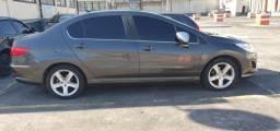 Peogeot 408 feline gnv 5 geracao muito novo troco por xj6 hornet carro menor valor - 2011