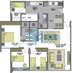 Apartamento 3 Quartos (Sendo 1 Suíte) - Maurício de Nassau - Residencial Orion