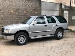 GM Blazer Prata 2002 DLX2.8 4X4 Turbo Diesel - Completa - 2002