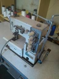 Máquinas de custura Overlock e Galoneira
