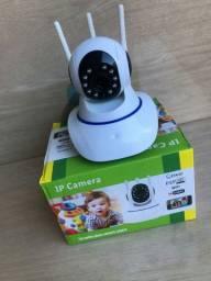 Câmera de segurança geral HD controle pelo celular via aplicativo