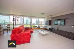Apartamento com 2 dormitórios para alugar, 113 m² por R$ 5.500,00/mês - Auxiliadora - Port
