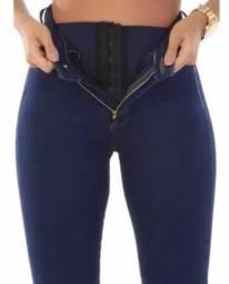 Calça cinta jeans sawary