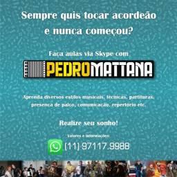 Aulas de Acordeão - Sanfona - Acordeon - Natal