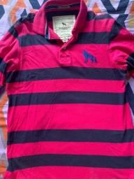 Vendo 1 camisa manga longa e 1 camiseta, originais; por 100 reais!