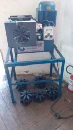 Prensa de mangueiras hidraulicas