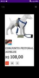 Conjunto Peitoral Au-Blue Novo