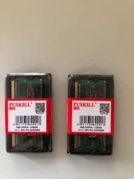 Memória 4 GB ddr3 1.600 MHz
