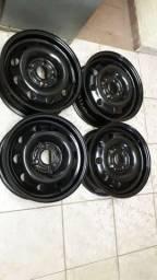 Rodas de ferro aro 14 Ford