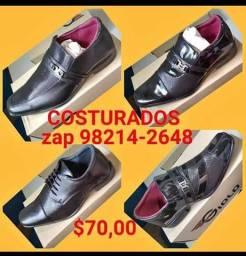 Sapatos sociais costurados marca giolo(sofisticação e elegância)