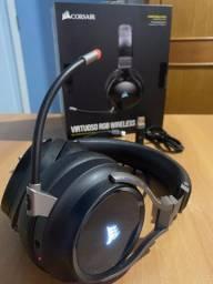 Fone de ouvido Corsair Virtuoso Wireless