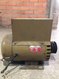 Gerador 2 Kva Kohlbach Monofásico 110/220 Volts 1800 Rpm